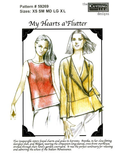 Cutting Line Designs #59269 My Hearts a\'Flutter | Sewing Patterns ...
