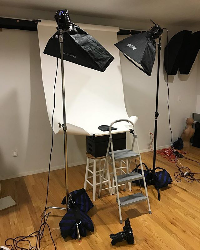 Studio Lighting Rental: Behind The Scenes Now For A Product Shoot At Ringlight