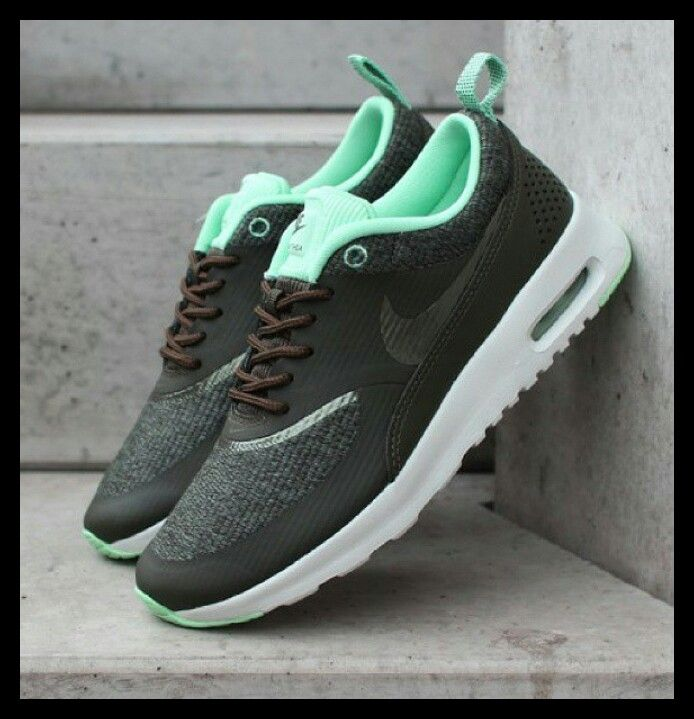 Nike air max thea cargo khaki dames sneaker Products I Love