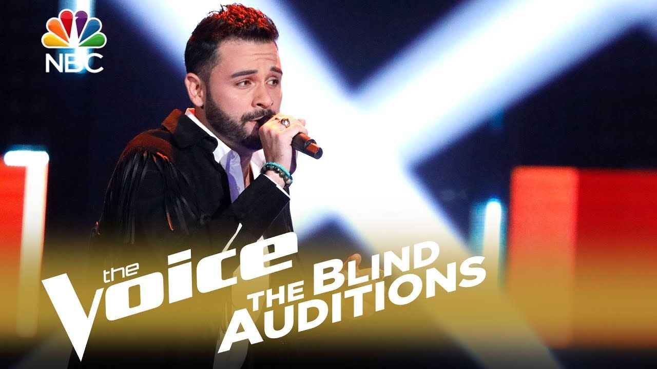 """The Voice 2018 Blind Audition Justin Kilgore """"Tomorrow"""