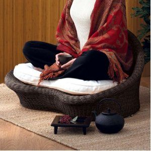 Love This Ratan Meditation Chair From Gaiam Meditation Rooms