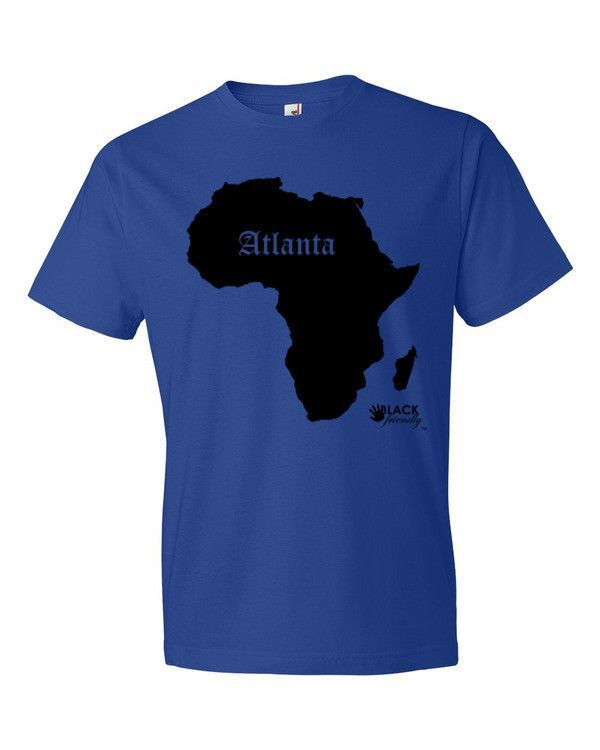 Atlanta - Black Silo - Men's Short sleeve t-shirt