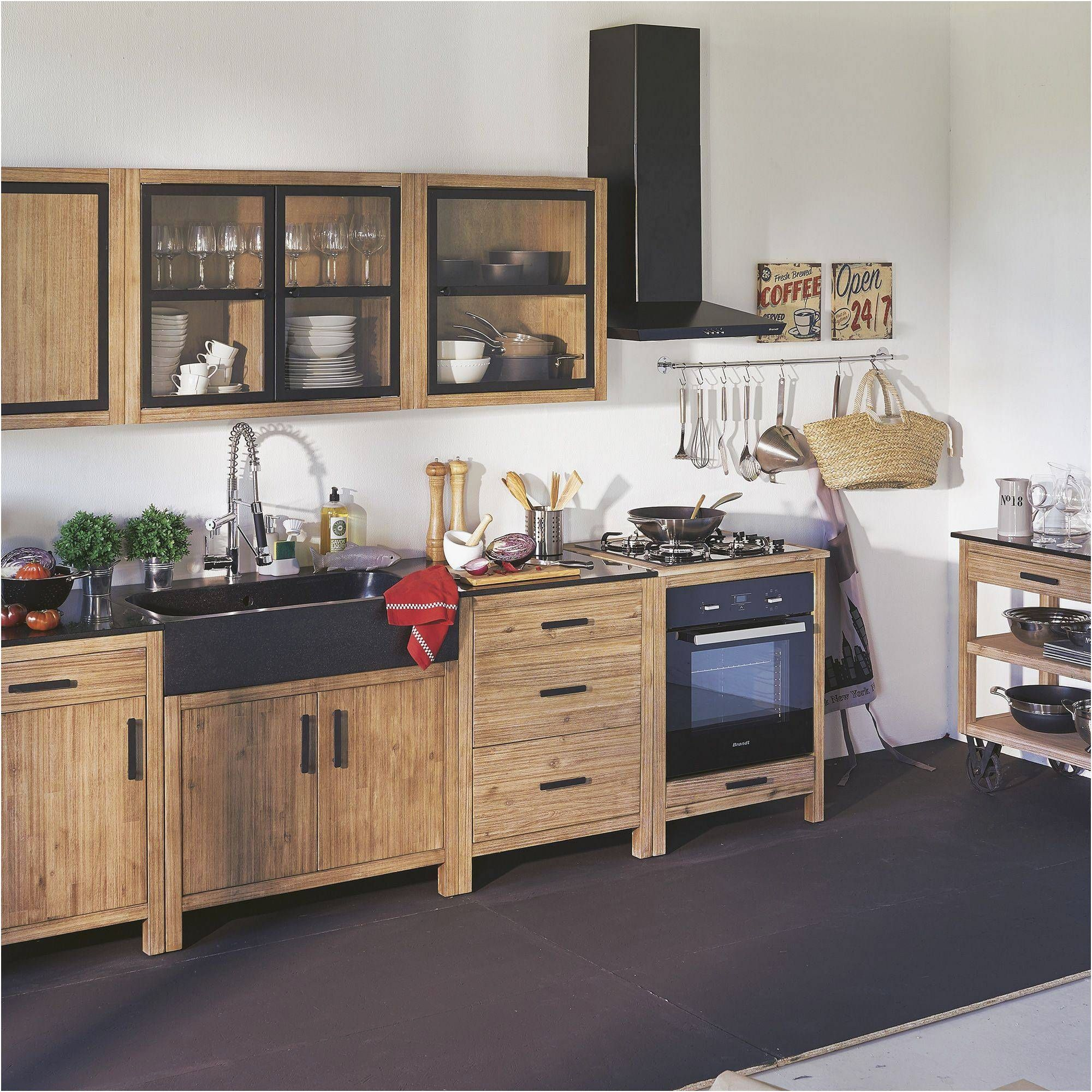 110cm alinea lys meuble haut cuisine
