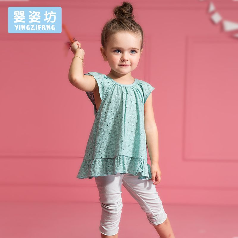 59491a384288b Baby Girl Clothes Summer Dress Vestidos Fashion Simple Casual Kids ...