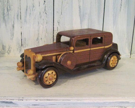 Handmade Wooden Clic Buick 1932 Car