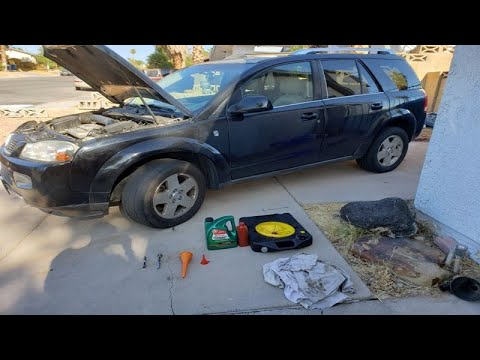 How To Change Automatic Transmission Fluid Atf Mj7 Mj8 Saturn Vue 2002 2007 Youtube Automatic Transmission Fluid Automatic Transmission Transmission