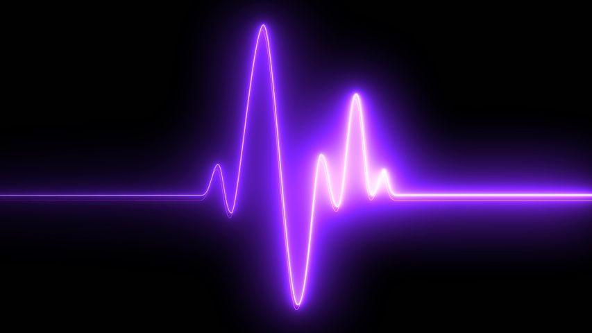 Purple Neon Symbol Design Sign Stock Footage Video (100% Royalty-free) 1054285955   Shutterstock