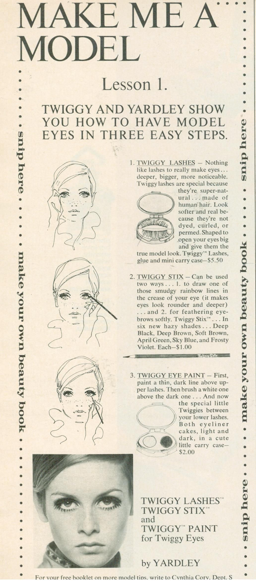 70s hair tutorial choice image any tutorial examples finnfemme twiggy eyes yardley of london 1968 my finnfemme blog finnfemme twiggy eyes yardley of london baditri Gallery