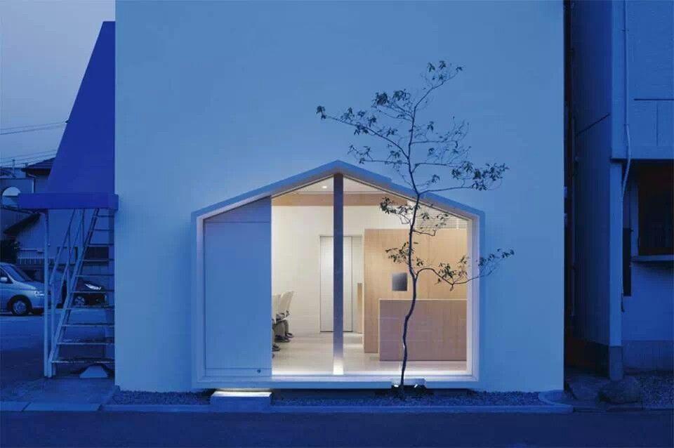 Beauty Salon in Osaka Japan by Tsubasa Iwahashi Architects