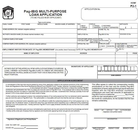 A Proven and Guaranteed Way on How to Apply for Pag Ibig Multi - housing benefit form