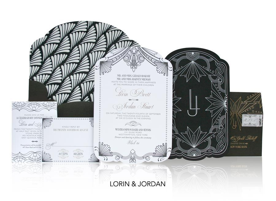 Best 20 Deco invitation inspiration ideas – Art Deco Party Invitations