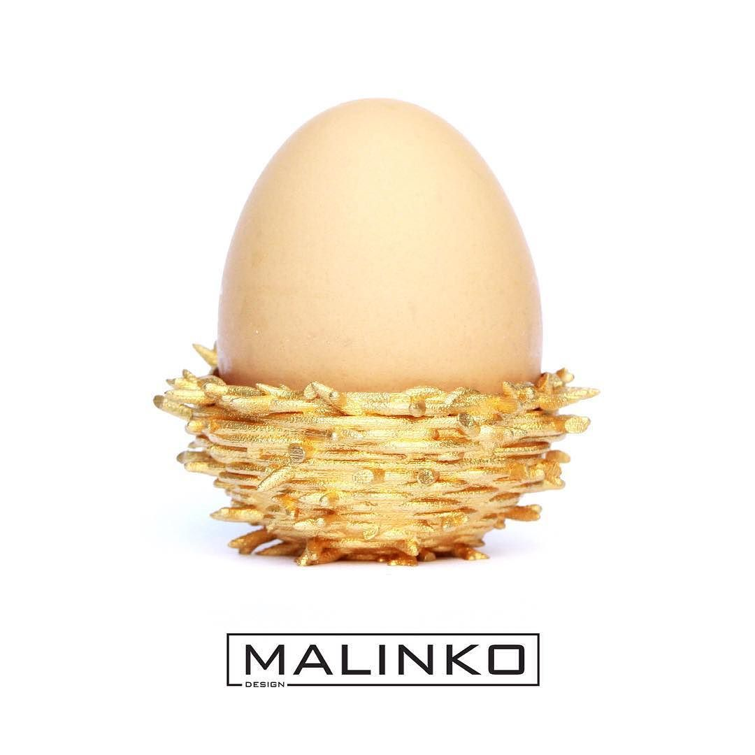 Time to get #ready for #Easter! #Beautiful #gold #plated #Nest ...