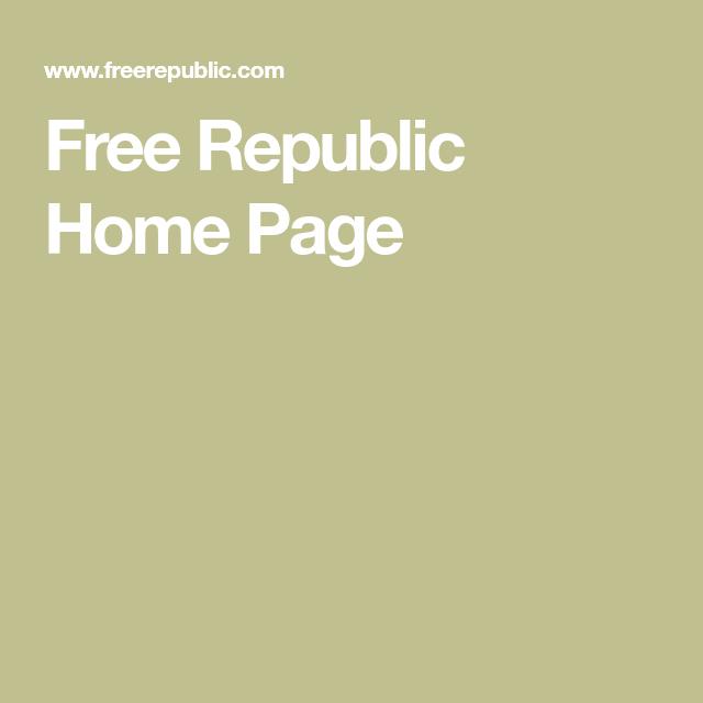 free republic homepage