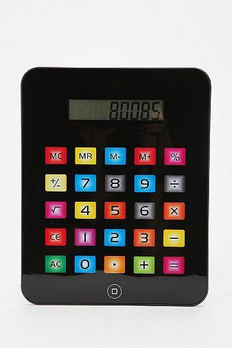 Pretty buttons. iCalculator
