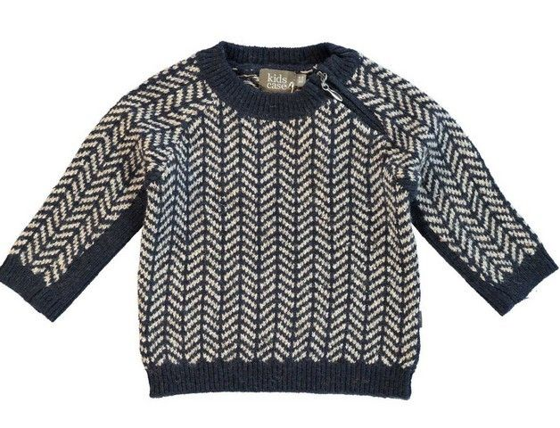 f3a26f928 Kidscase Doug Baby Sweater Dark Blue Off White