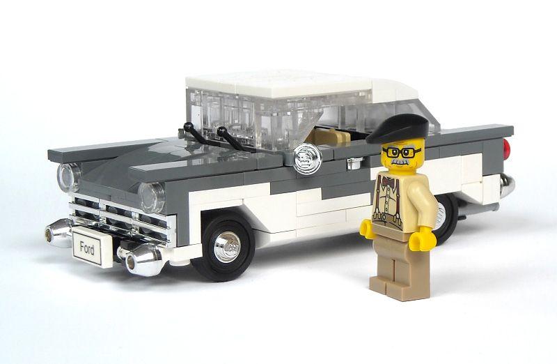 Lego Classic Car Fun Pinterest Lego Lego Car Ford And Lego