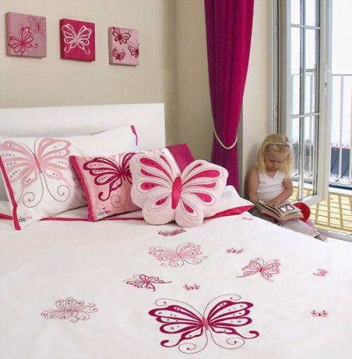 Unique Playful Butterfly Decor Kids Bedroom Themes Kids
