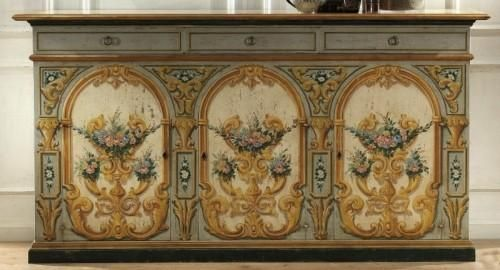 Italian furniture by Vittorio Grifoni with classic design Декупаж