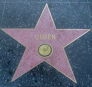 Queen (band) walk of fame star - Google Search | Hollywood ...