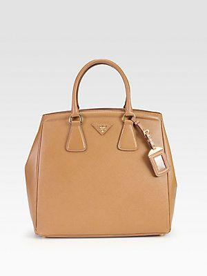 Prada Saffiano Lux New N S Tote Classy Bag