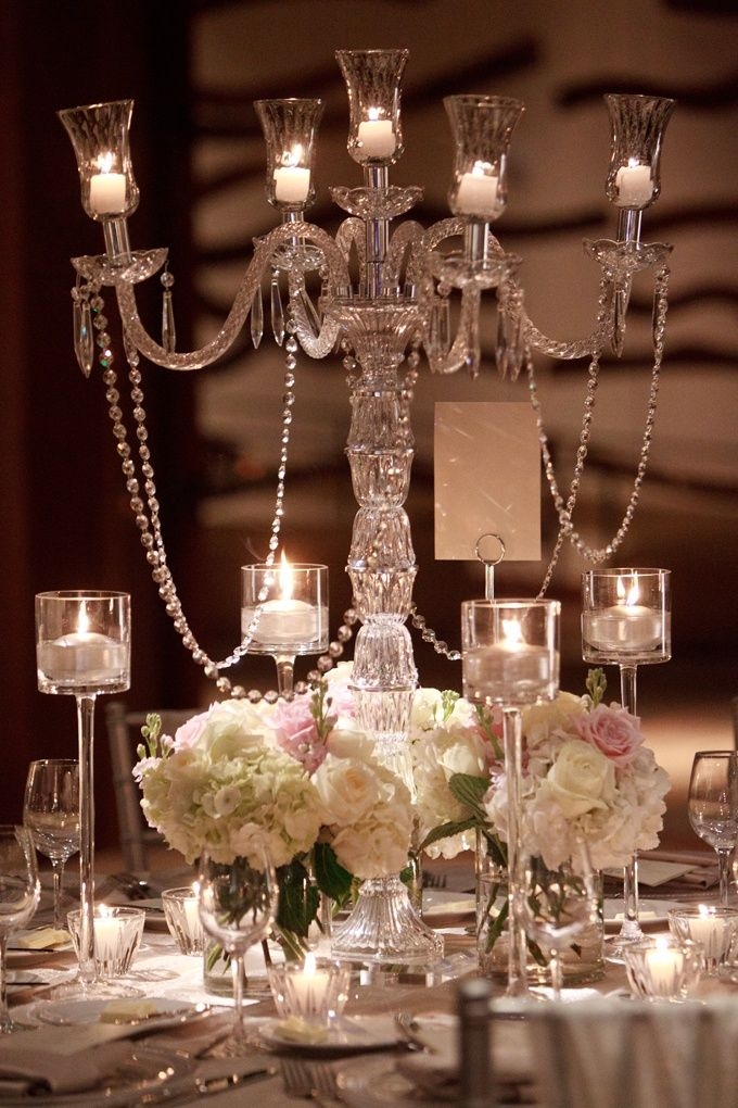 Wedding Bells Decorations Candelabra Wedding Decor  Crystal Candelabra  Wedding Bells