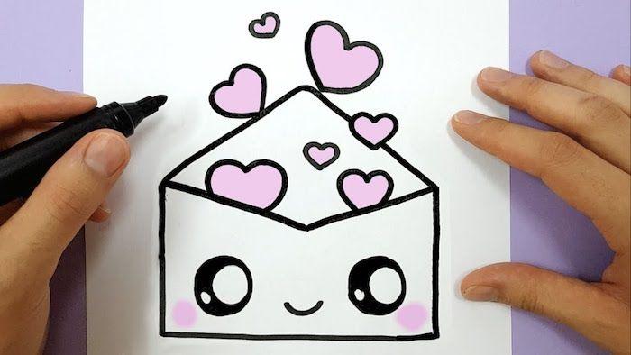 1001 Idees Faciles Pour Faire Un Dessin Kawaii Mignon Pour Debutant Dessin Enfant Comment Dessiner Un Lapin Dessin Kawaii Glace