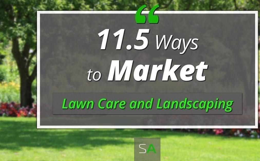 Pin on lawn care business cards