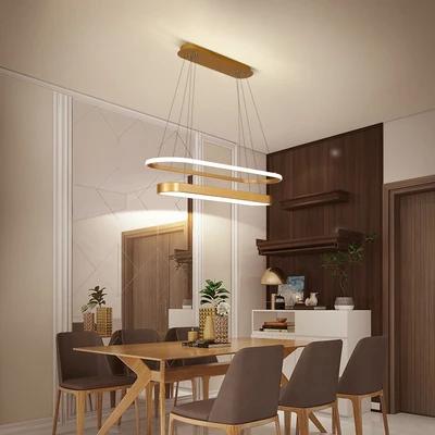 Modern LED Pendant Lights Fixtures for Living dining room - Decor Interior Inc. #pendantlight #pendantlamp #interiordecor #homelighting #lighting #livingroomdecorations #homedecor #interiordesign #architecture #realestate