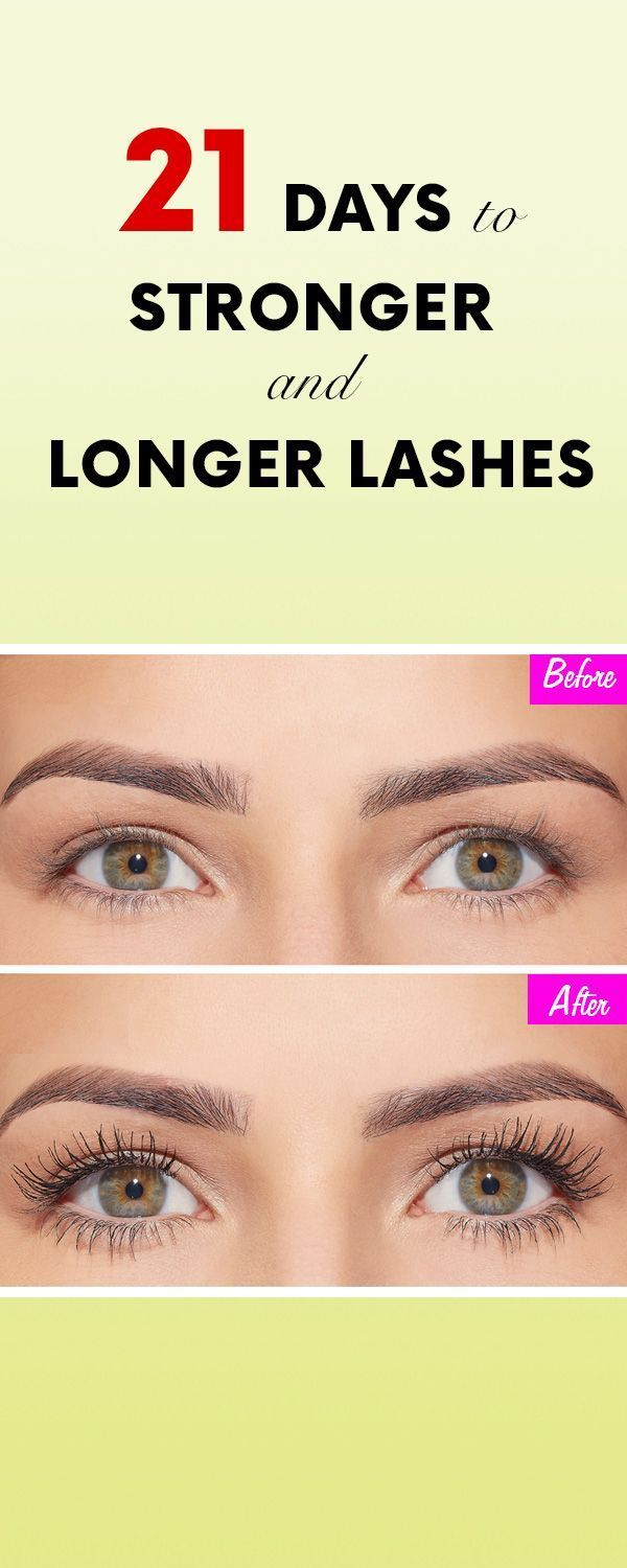 How to get stronger and longer lashes in just 21 days ...