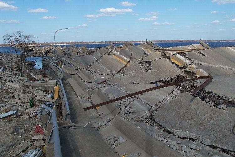 Not An Earthquake A Hurricane S Storm Surge Katrina Hurricane