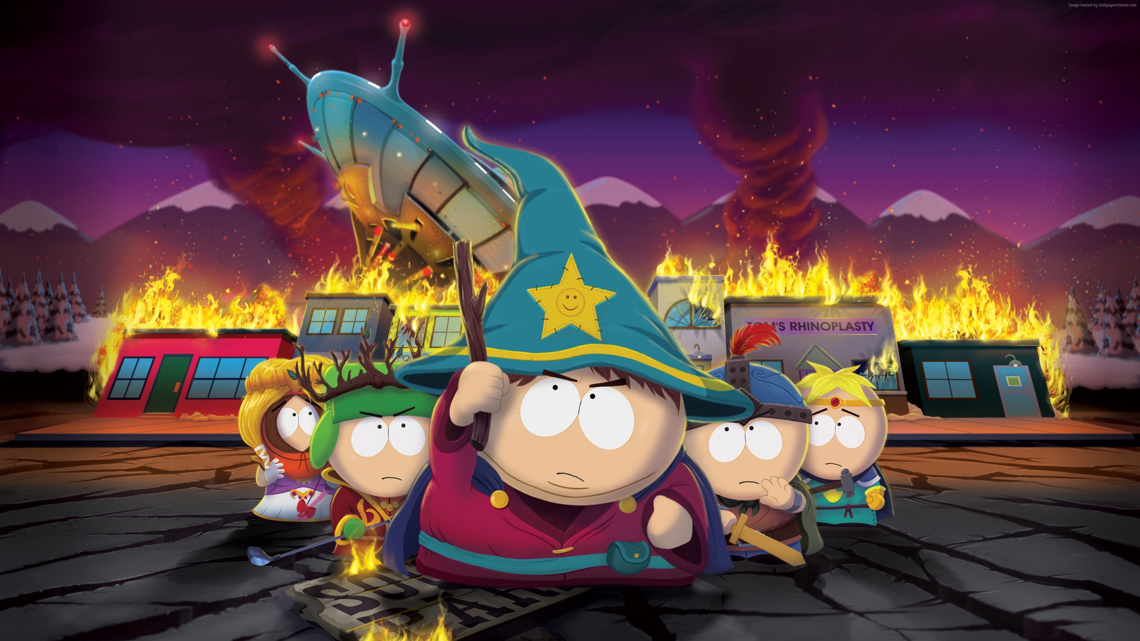 Desktophdwallpaper Org South Park South Park Poster South Park Cosplay