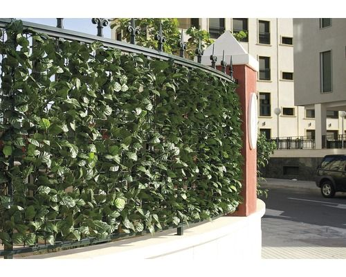 Sichtschutzmatte CATRAL PVC Efeuoptik 100x300 cm