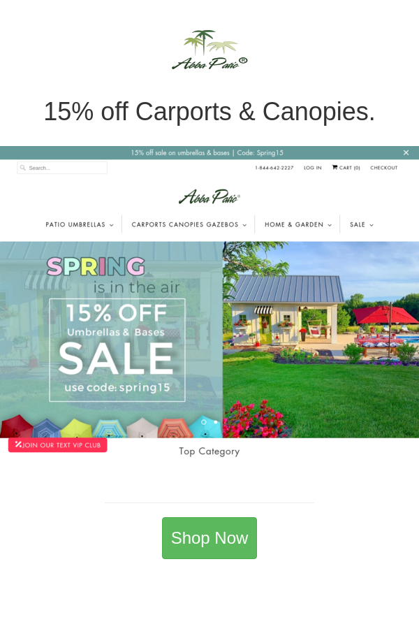 Best Deals And Coupons For Abba Patio In 2020 Carport Canopy Patio Patio Umbrellas