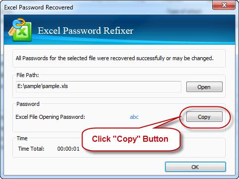 Isumsoft Excel Password Refixer User Guide Excel User Guide Passwords