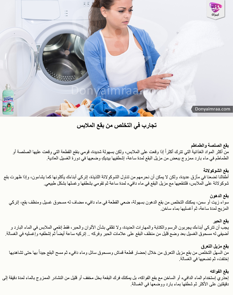 بقع الملابس Cleaning Clothes House Cleaning Checklist Cleaning Household