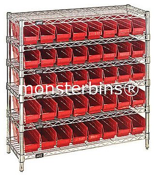Wire Shelving   Traditional   Closet Organizers   Miami   Monster Bins®