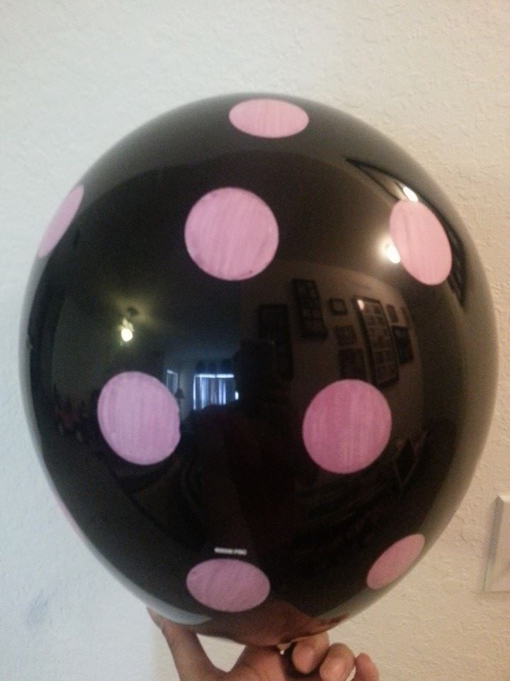 "10 pc 11"" Polka Dot Latex Balloon Happy Birthday Baby Shower Wedding Bridal Spot"