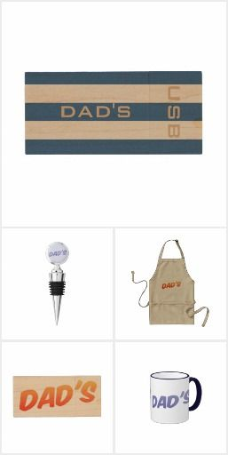 Dad's Cheap and Cheerful Gifts
