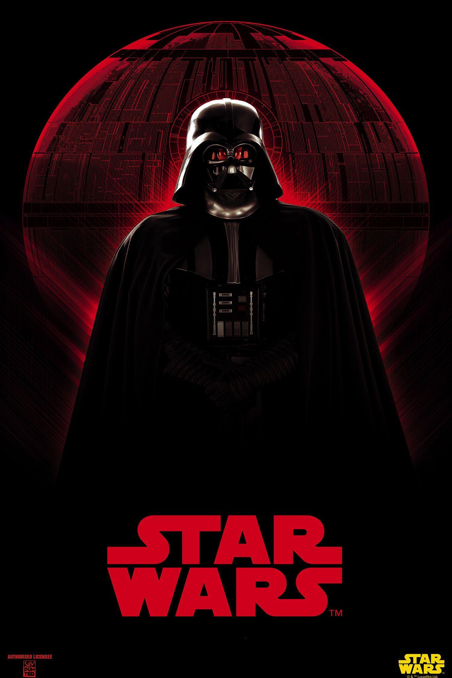 Darth Vader Star Wars Poster Rogue One Star Wars Star Wars