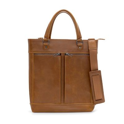 SHOPPER WITH DOUBLE POCKET - Totes and messengers - Bags - Man | ZARA India
