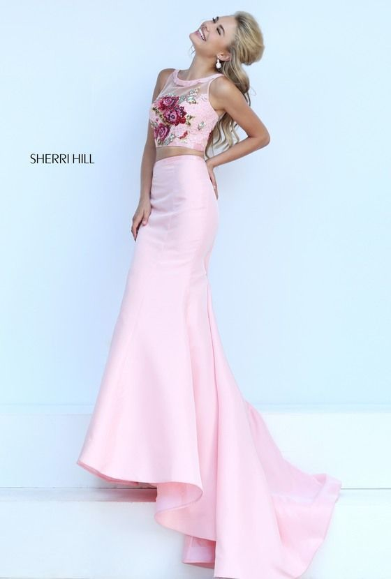 32352 - SHERRI HILL | Prom 2017 | Pinterest | Moda rosada, Vestidos ...