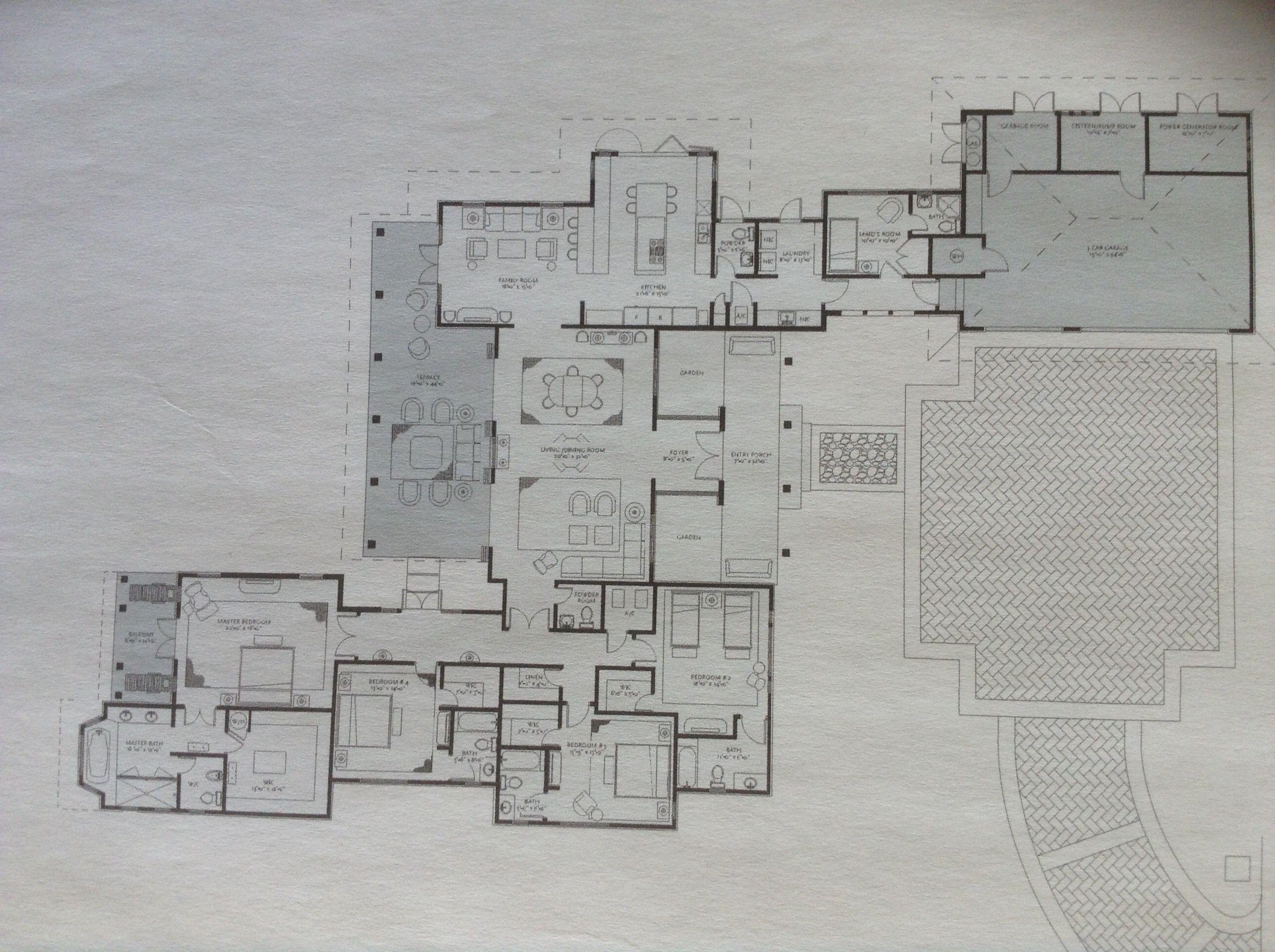 Las Estancias Estates Carmen Bahia Beach Puerto Rico Floor Plans House Plans Site Plans