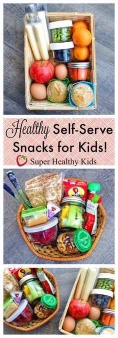 Helping kids to be independent with a healthy self-serve snack box!  http://www.superhealthykids.com