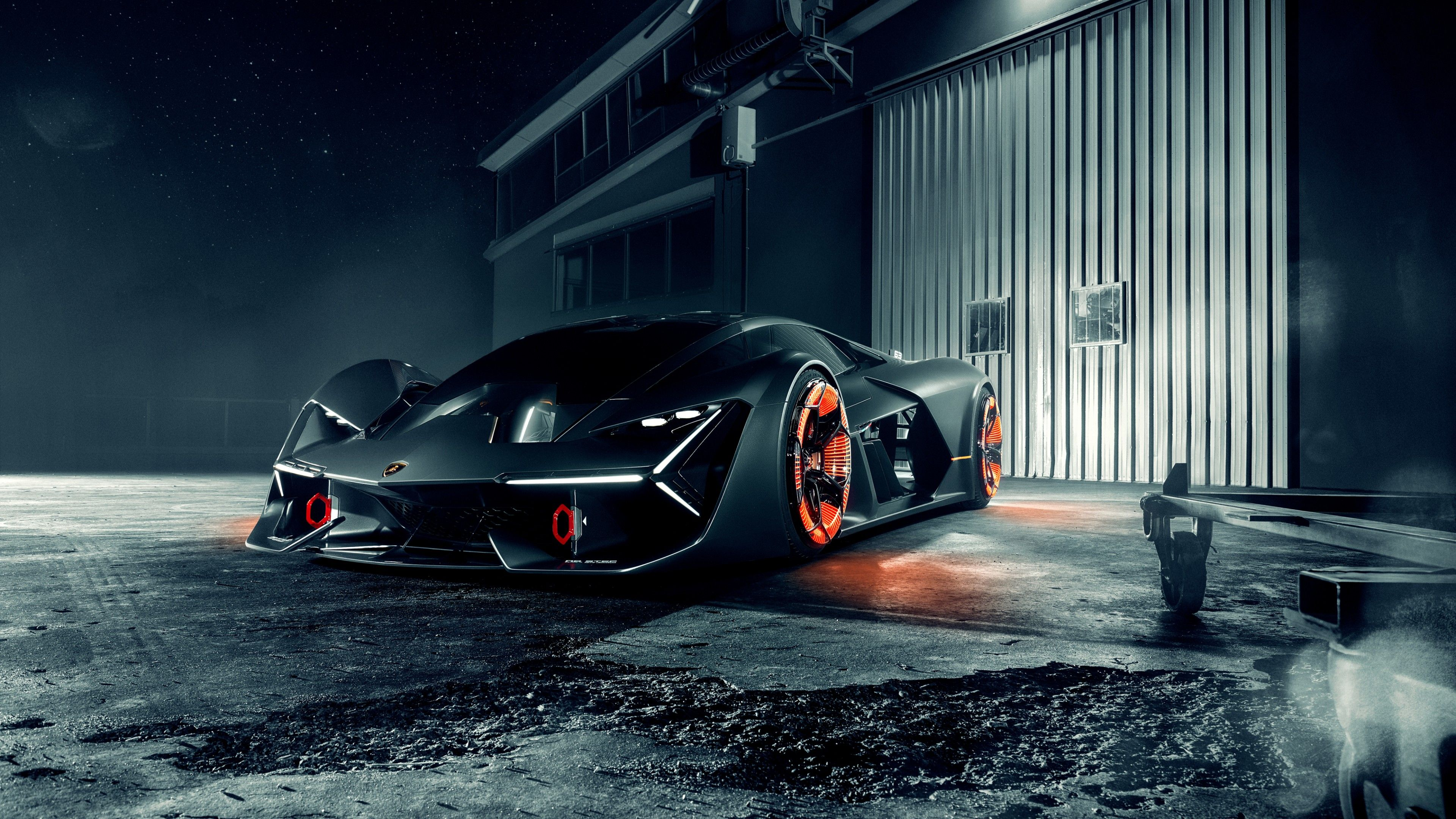Stunning Lamborghini Terzo Millennio Car Hd Wallpaper 4k With