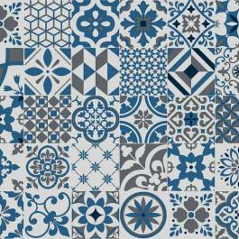 Azulejos Tile Effect Sheet Vinyl Flooring Porto Lino Buy Online Vinyl Flooring Cushioned Vinyl Flooring Tile Patterns