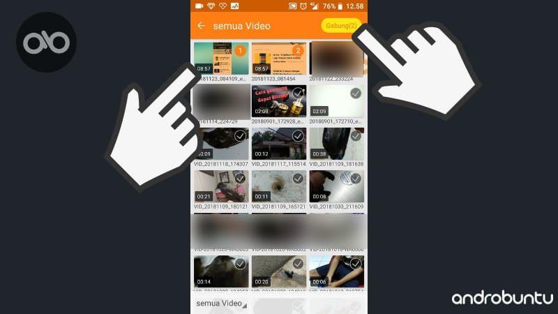 Cara Menggabungkan Video Di Android Menggunakan Du Recorder Video