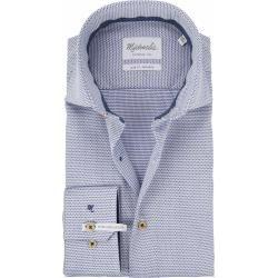 Michaelis Hemd Sf Weiß/Blau Sl7 #afrikanischekleidung