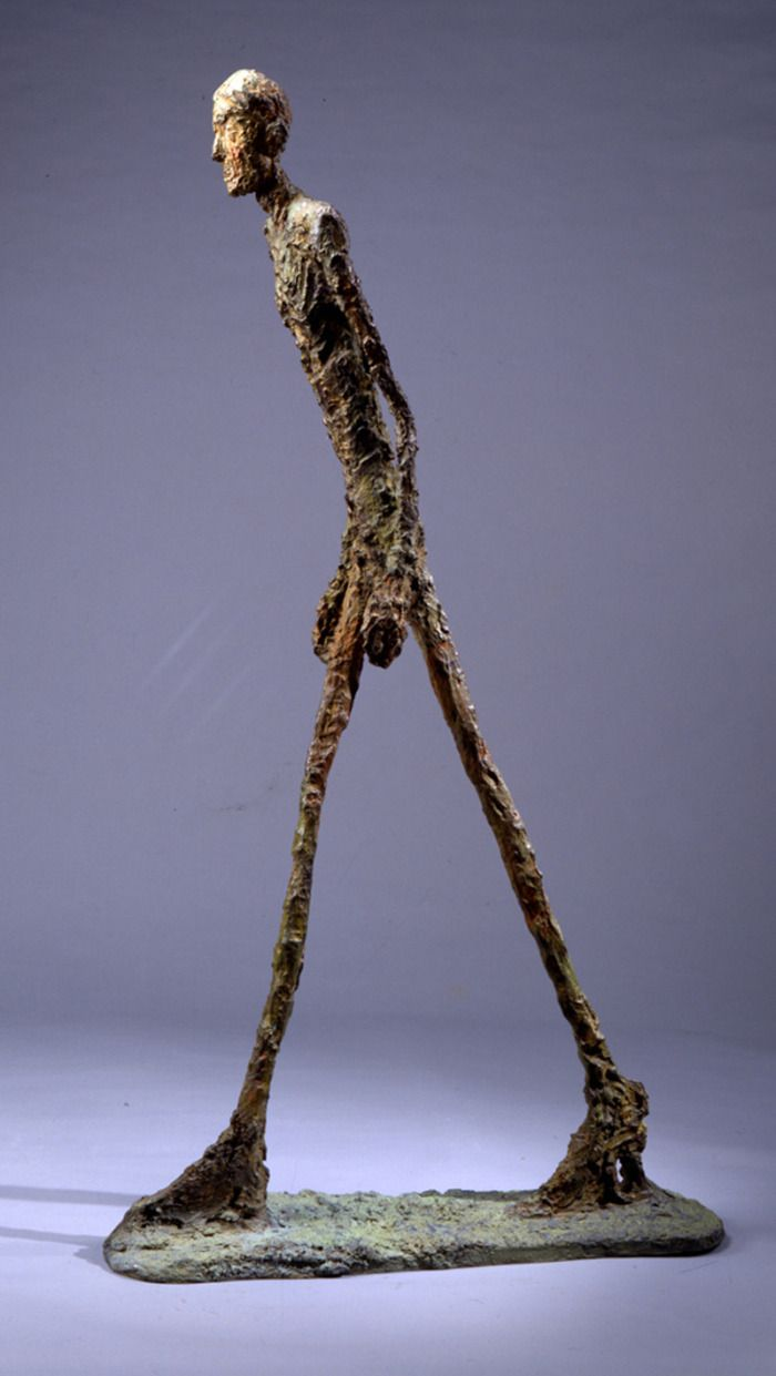 L'homme Qui Marche De Giacometti : l'homme, marche, giacometti, Alberto, Giacometti's, L'Homme, Marche, Achieved, Highest, Price, Sculpture, Auctioned, Sotheby's, February, 조각, 예술,, 조각,, 서양, 미술