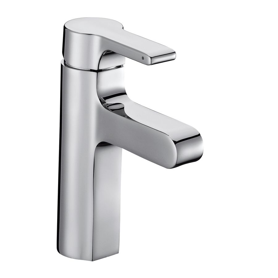 Kohler Singulier Polished Chrome 1 Handle Bathroom Sink Faucet Drain Included At Lowes Single Handle Bathroom Sink Faucet Sink Faucets Bathroom Sink Faucets
