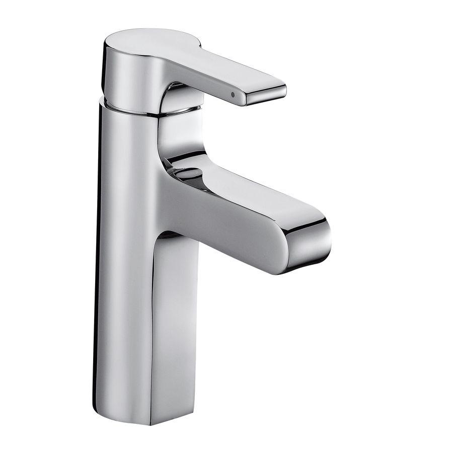 Kohler Singulier Polished Chrome 1 Handle Bathroom Sink Faucet Drain Included At Lowes C Bathroom Sink Faucets Sink Faucets Bathroom Sink Faucets Single Hole Chrome single handle bathroom faucet